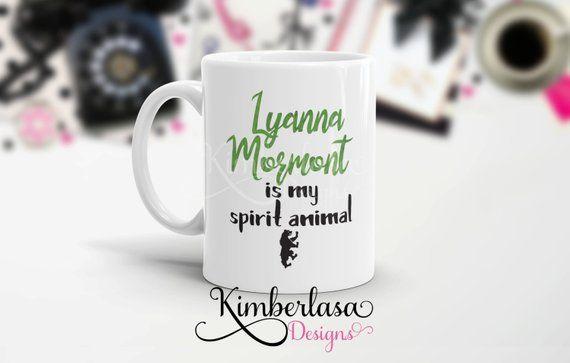 eedde53f5 lyanna mormont is my spirit animal mug | lyanna mormont mug | house mormont  mug | got mug | bear isl