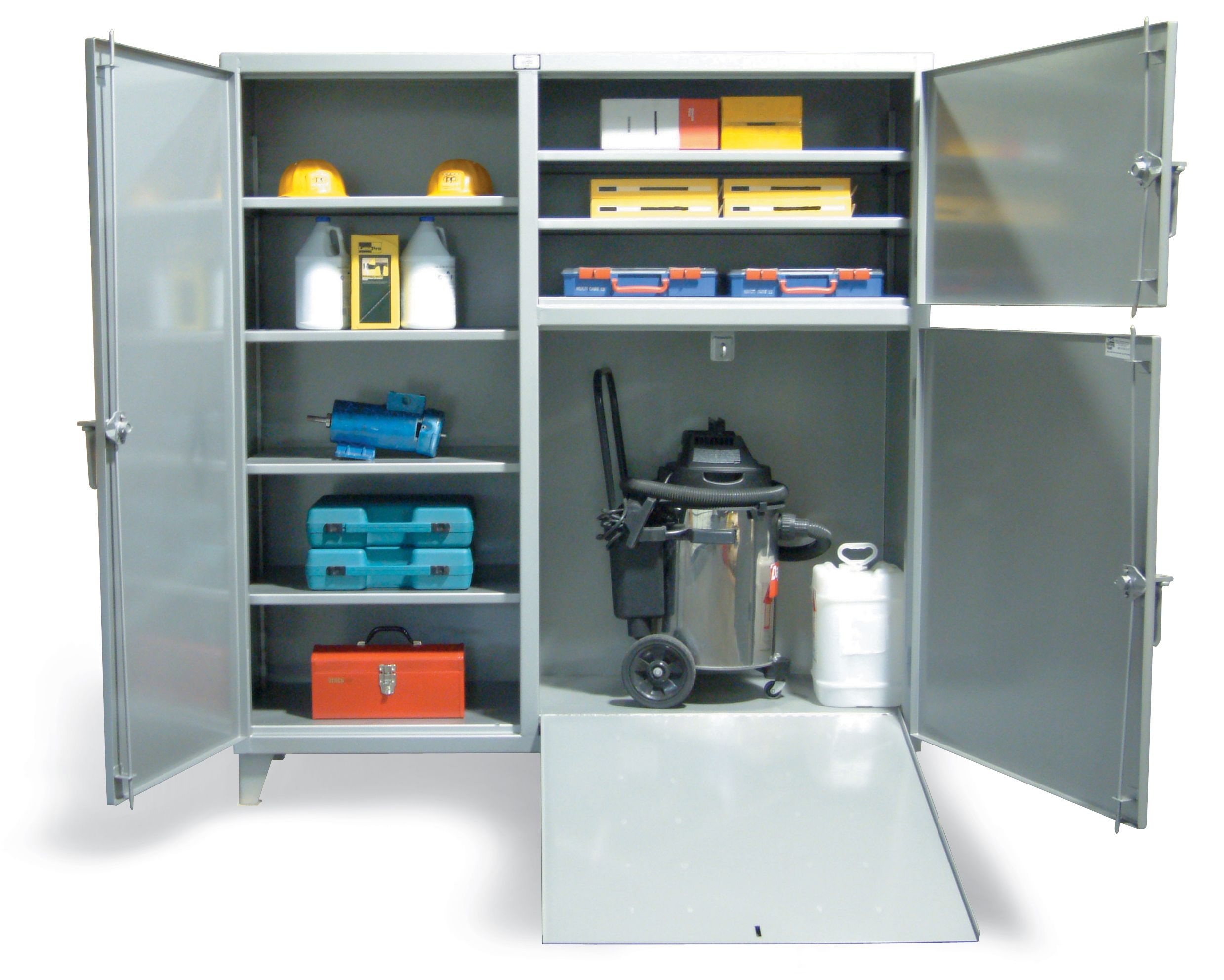 Strong Hold Products Adjustable Shelving Cabinet Storage
