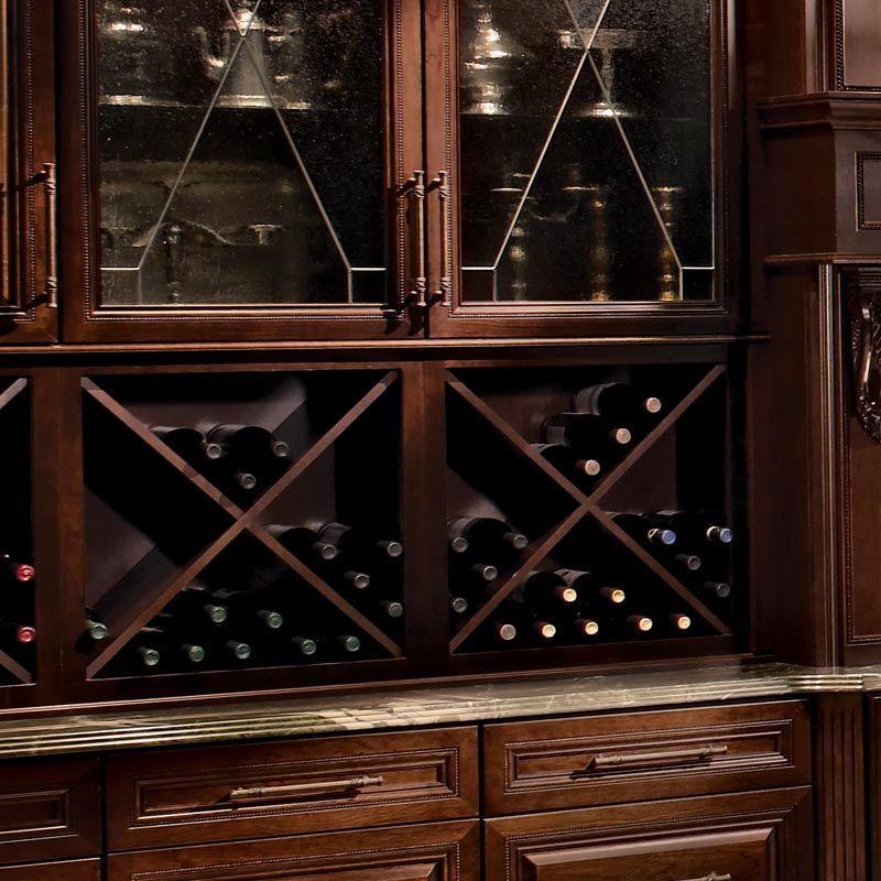 Mueble para almacenar vinos cherry kaffe muebles de - Muebles para almacenar ...
