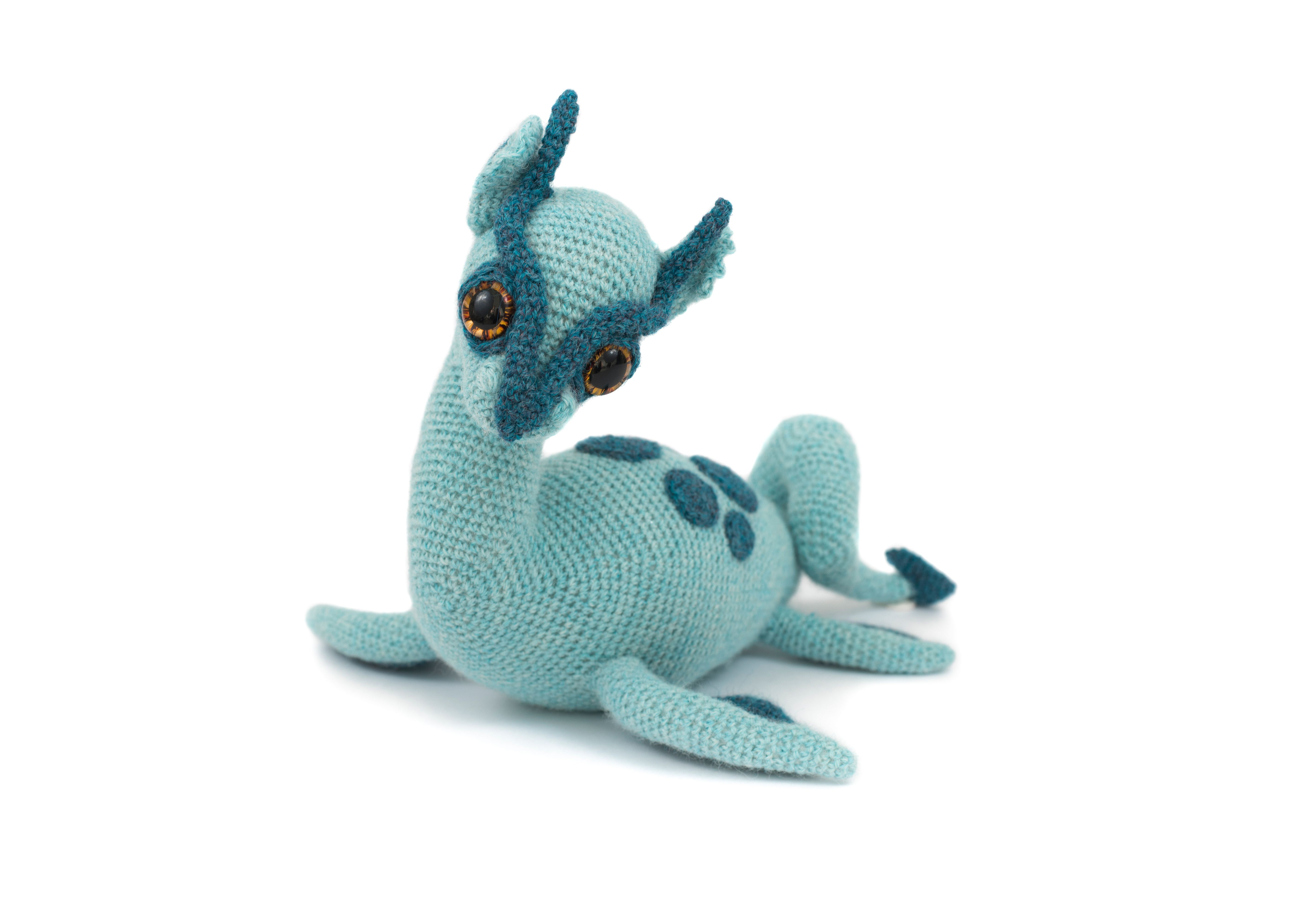Nessie the Loch Ness Monster by Patchwork Moose - crochet pattern in ...