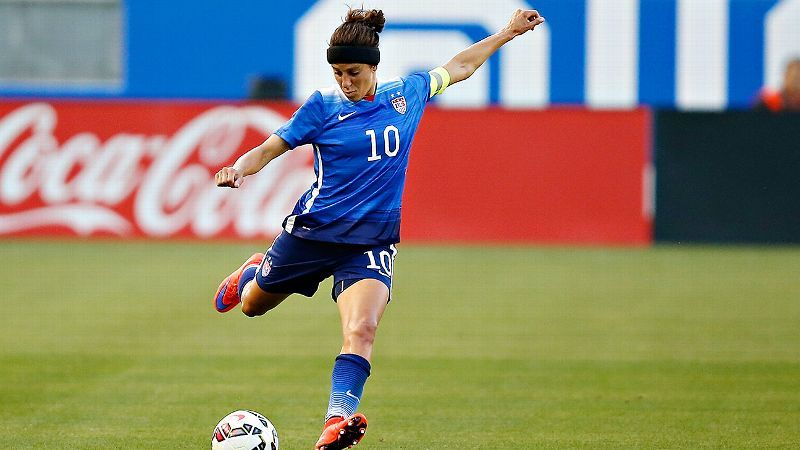 How getting cut helped Carli Lloyd refocus and find her spot on the U.S. women's national team