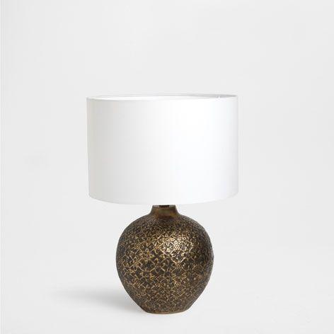 Lampada Palla Dorata Illuminazione Letto Zara Home Italia Illuminazione Zara Home Lampade