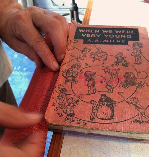 Book Repair: Spine Replacement