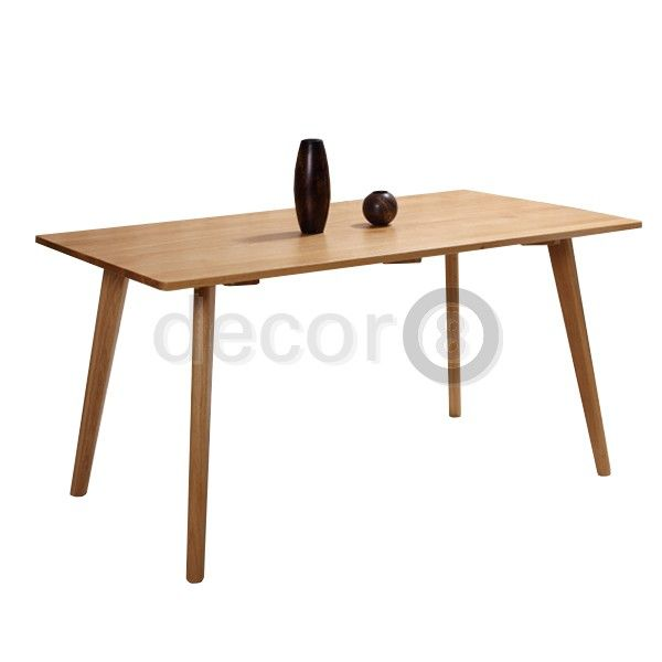 Decor8 Modern Furniture Hong Kong   Wilshire Solid Wood Dining Table And  Work Desk