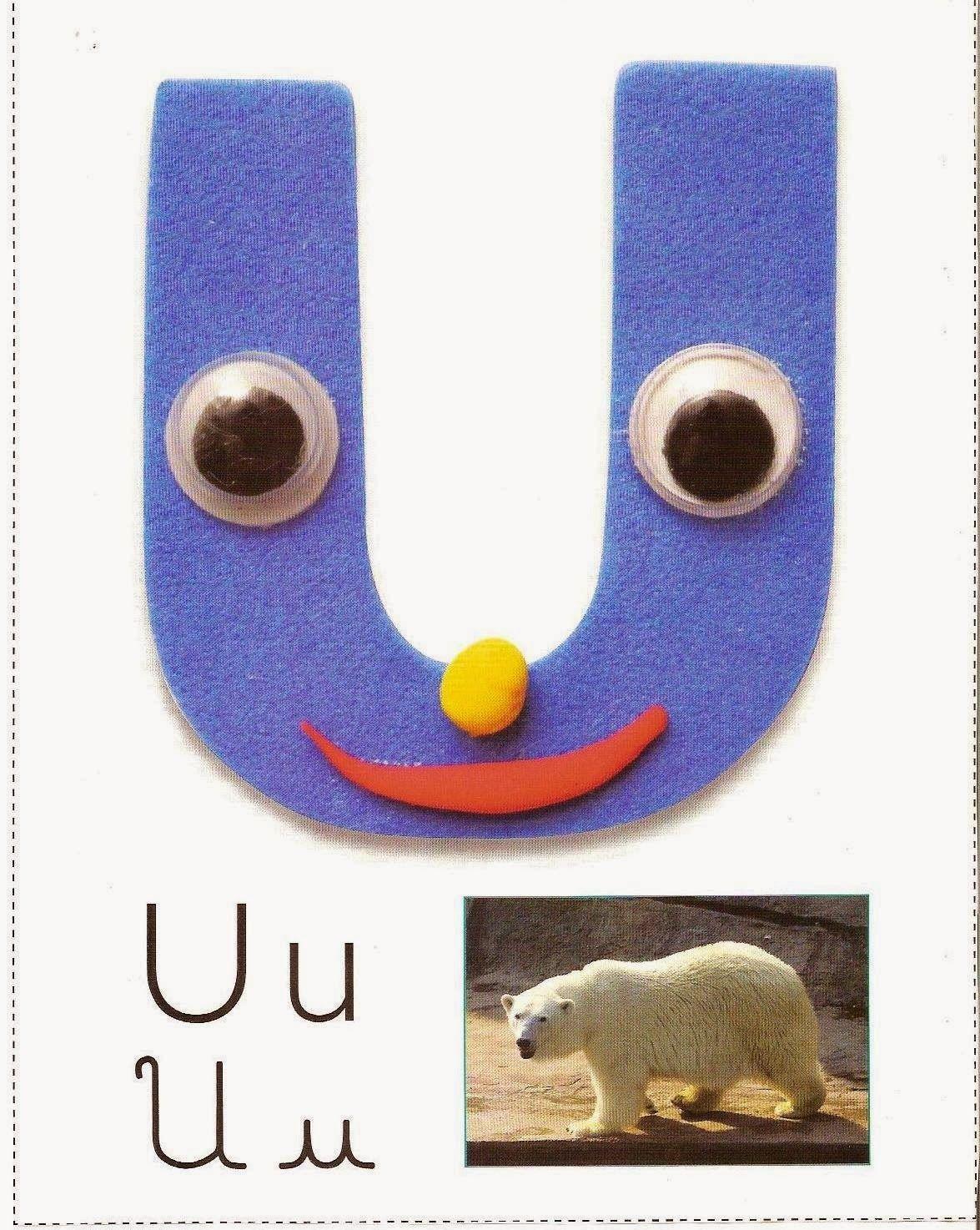 Alfabeto para sala de aula em EVA com figuras | Pra Gente Miúda