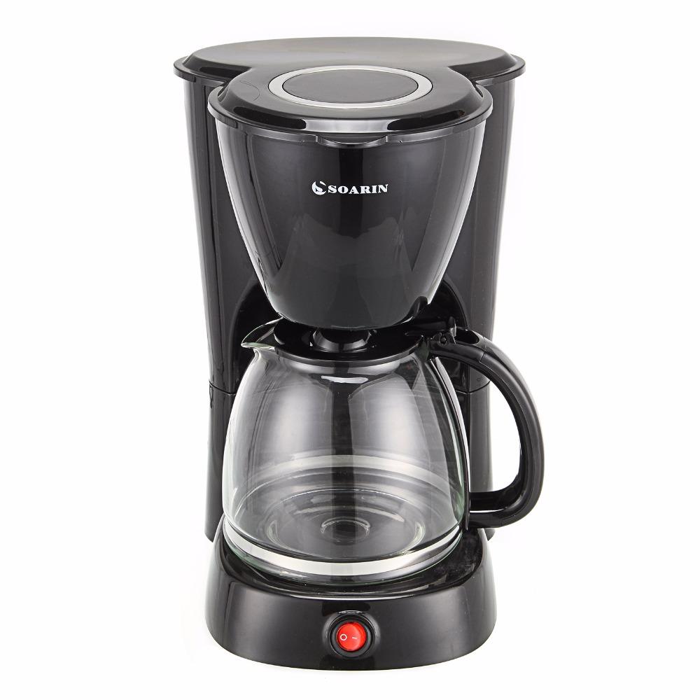220V Drip Coffee Maker Household Autooff Hourglass Cafe