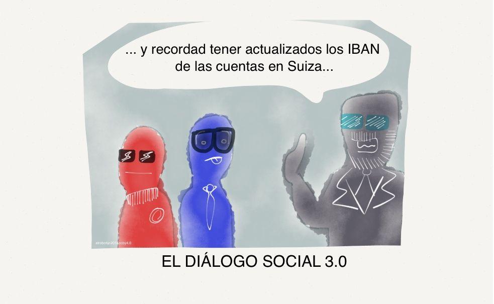el diálogo social 3.0, mantiendo el espíritu desarrollado en su antecesor, el 2.0