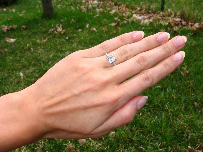 beautiful engagement rings on hands wwwimgkidcom the