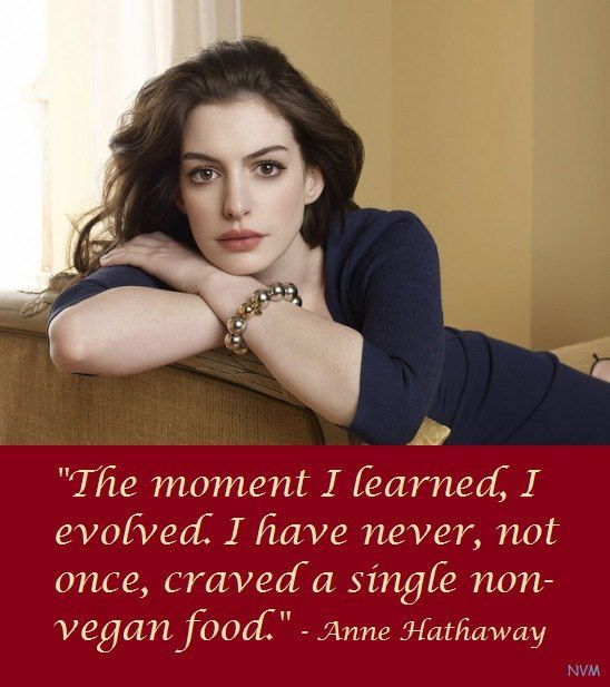 Anne Hathaway People: 10 Celebrities Who Turned Vegan For The Change