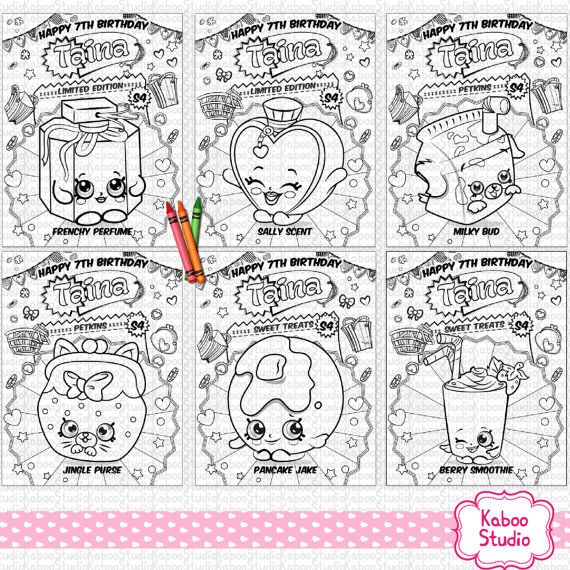 He encontrado este interesante anuncio de Etsy en    wwwetsy - best of shopkins coloring pages snow crush
