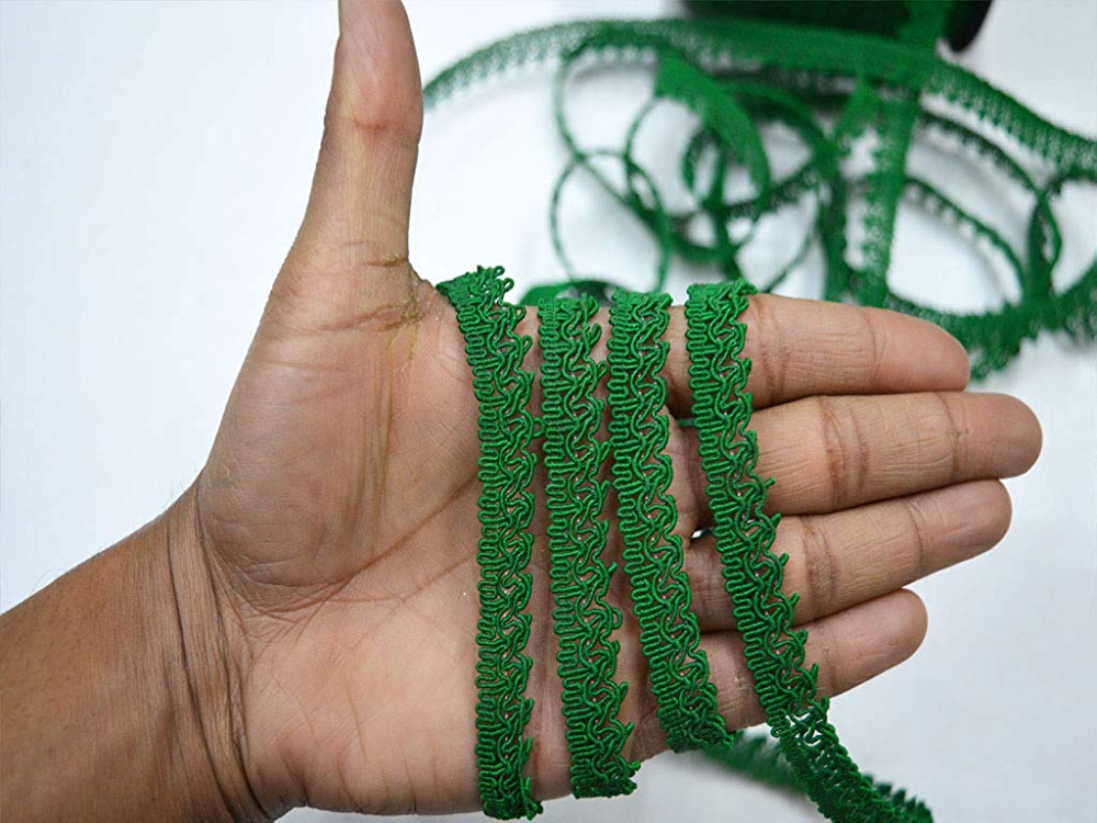 Decorative Beaded Fringe Upholstery Curtain Ribbon Sewing Crafting By The Yd
