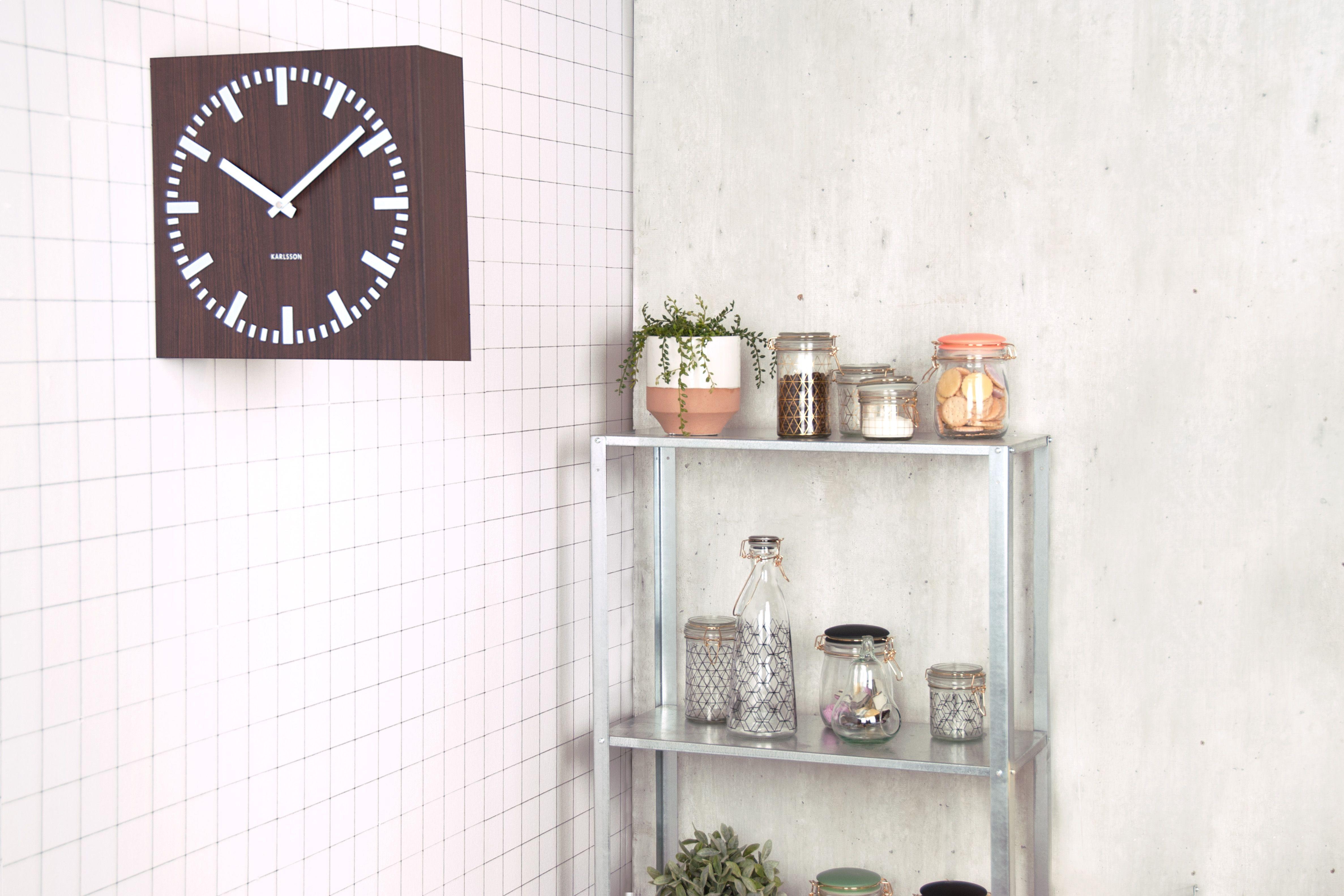Present time woonaccessoires woondecoratie klok modern woonkamer ...