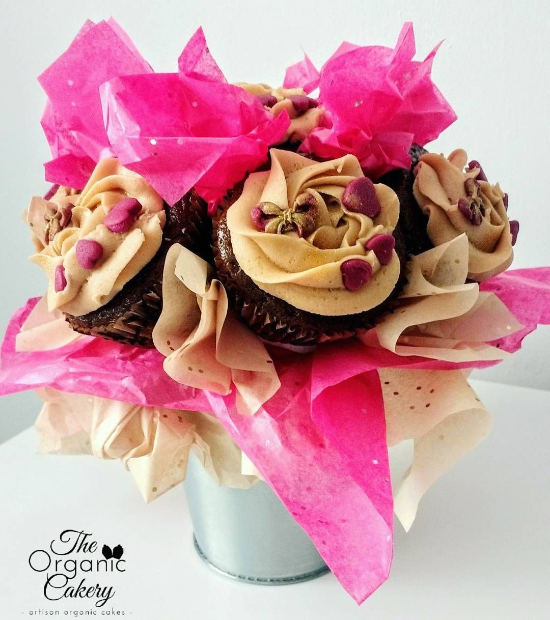 Gingerbread cupcake bouquet much more delicious than a bouquet gingerbread cupcake bouquet much more delicious than a bouquet of flowers izmirmasajfo