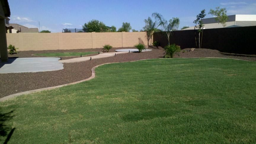 Backyard Landscape Design Arizona Living Landscape Design Queen