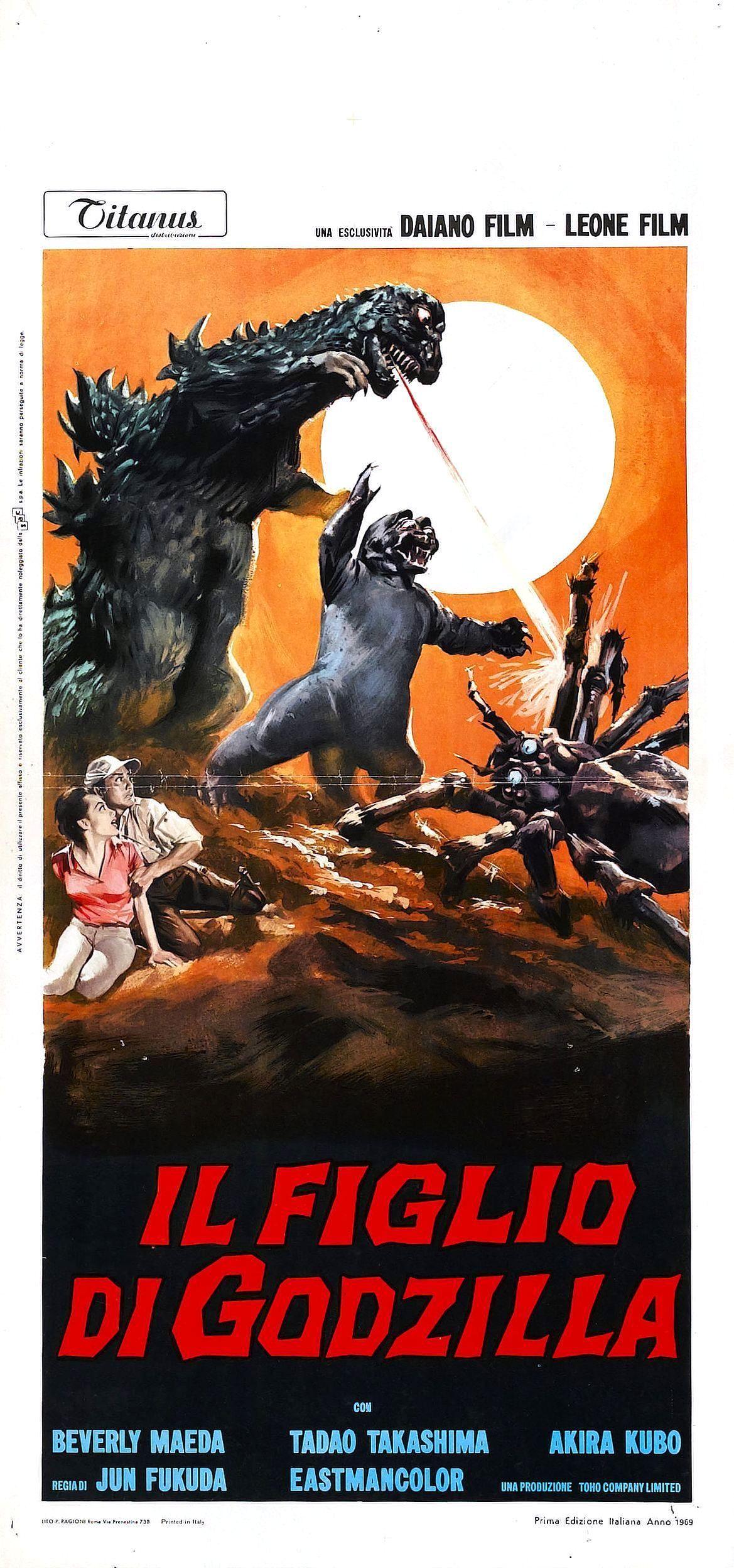 Son of Godzilla...in italiano!!!