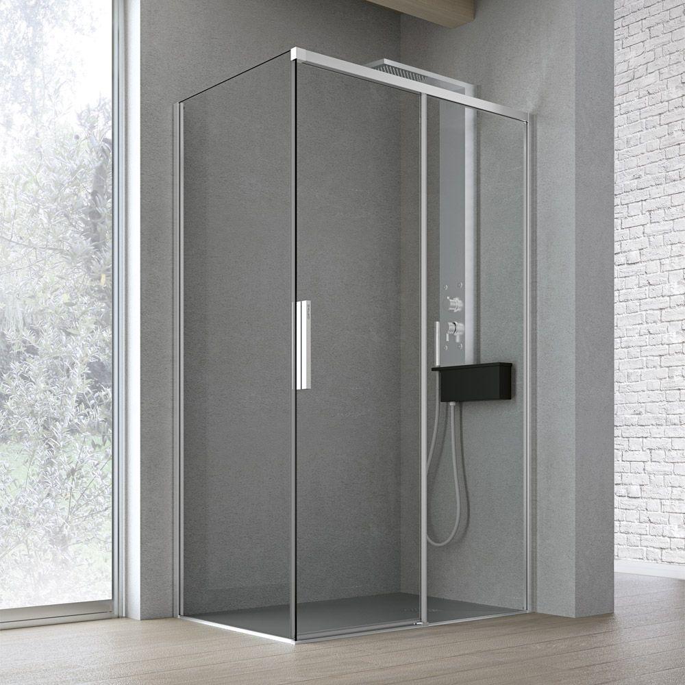 particolare-cabina-doccia-hafro-geromin-time-scorrevole1anta-2  Cristalli di Hafro  Pinterest