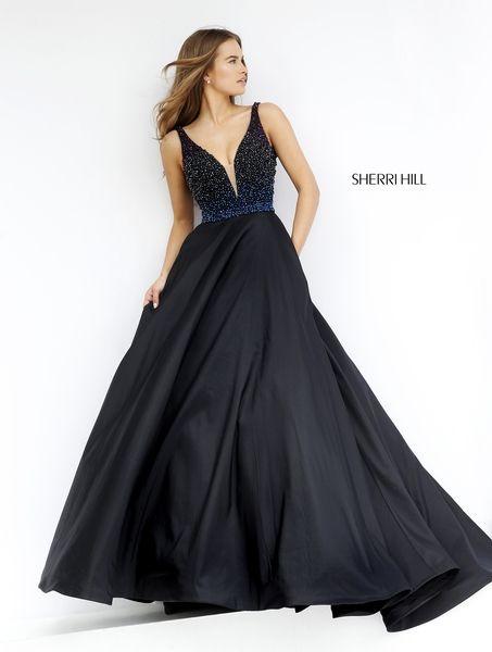 fbca4da619e1 Sherri Hill Prom Spring 2016   32336 www.thecastlepromandbridal.com  Ballgown Colors  black