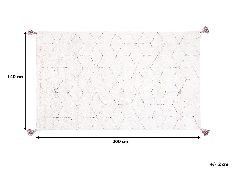 Dywan Shaggy 140 X 200 Cm Bialy Sakarya Beliani Pl Carpet Beliani Shaggy