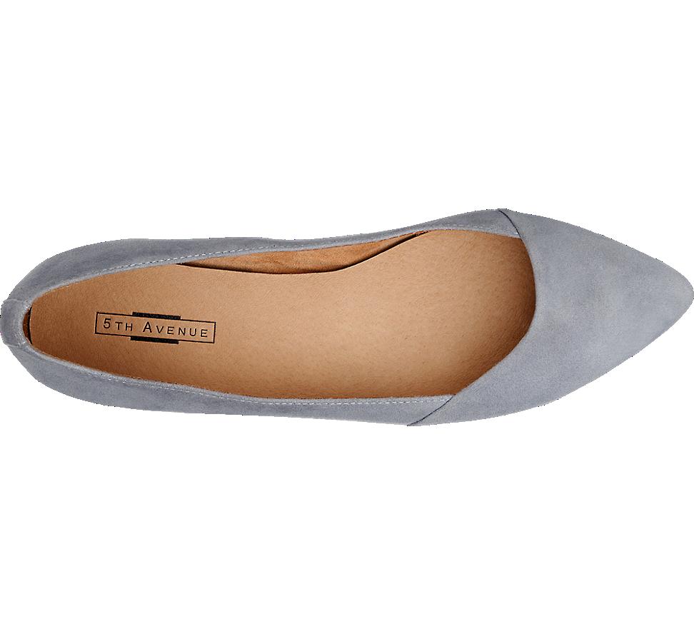 Zamszowe Baleriny Damskie 5th Avenue 1145819 Shoes Fashion Flats