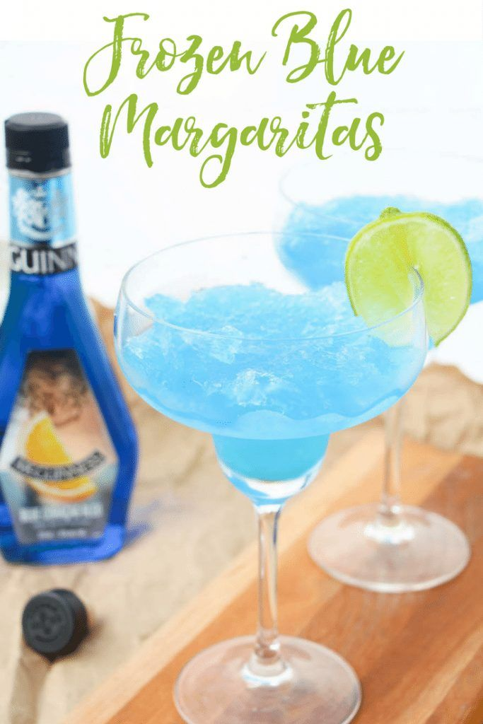 Frozen Blue Margaritas