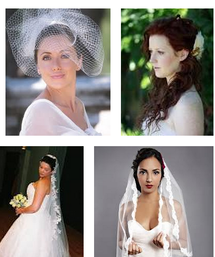 styles of wedding veils