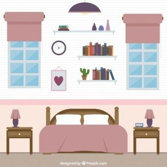 Vectores De Dibujos Animados 6 900 En Formato Ai Eps Y Svg Muebles De Barbie Casa De Munecas De Papel Casas De Munecas
