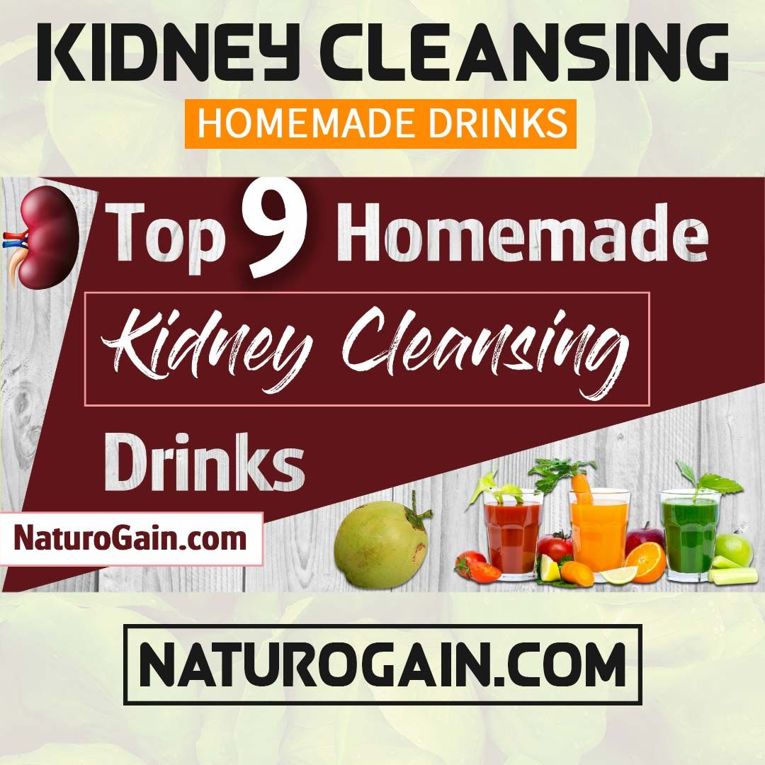 Homemade Kidney Cleansing Drinks