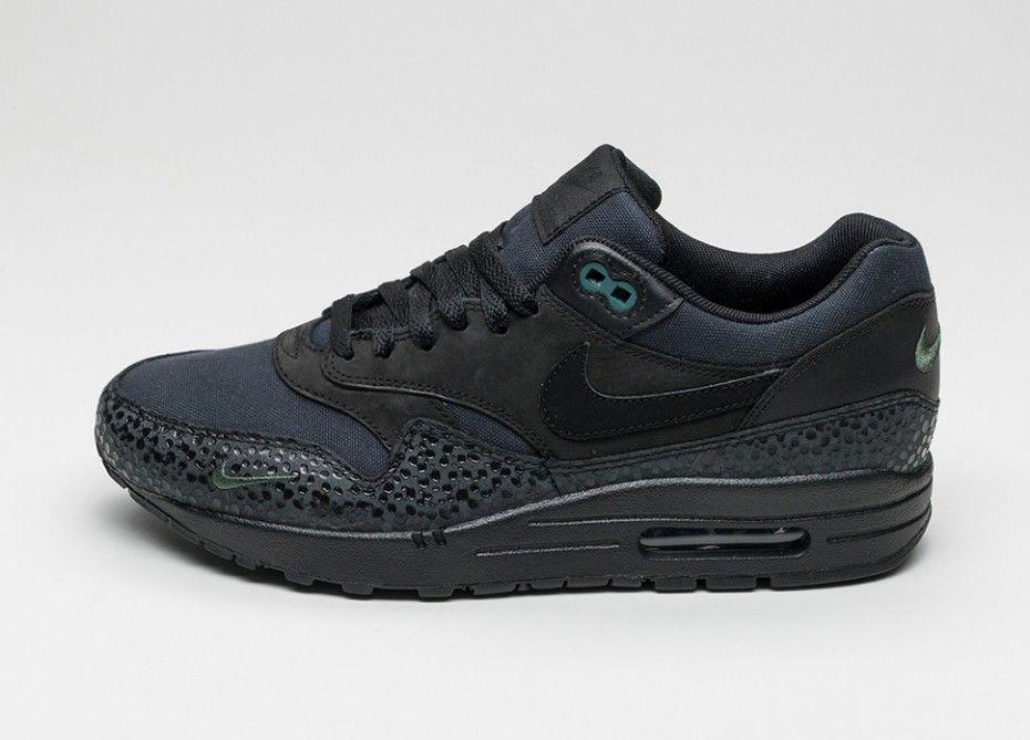 Nike Air Max 1 PRM (Black / Black
