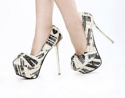 Gorgeous Paris Romatic Style Stiletto Heels - HeelsFans.com