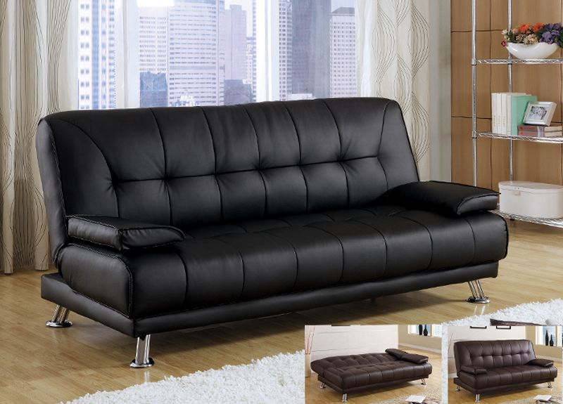 Nice Leather Futon Couch Trend 97 On Sofa Room Ideas With