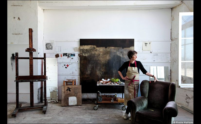 Naomi Frears (Studio 3) article about st Ives studios