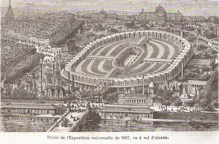 Exposition universelle de 1867 champ de mars paris for Expo paris mars