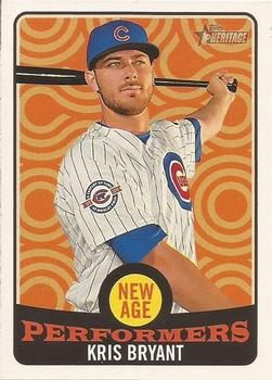 2017 Topps Heritage - New Age Performers #NAP-12 Kris Bryant Front