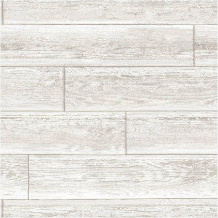 Nuwallpaper Serene Cream Peel Stick Wallpaper Walmart Com Adhesive Wood Paneling Nuwallpaper Wood Wallpaper