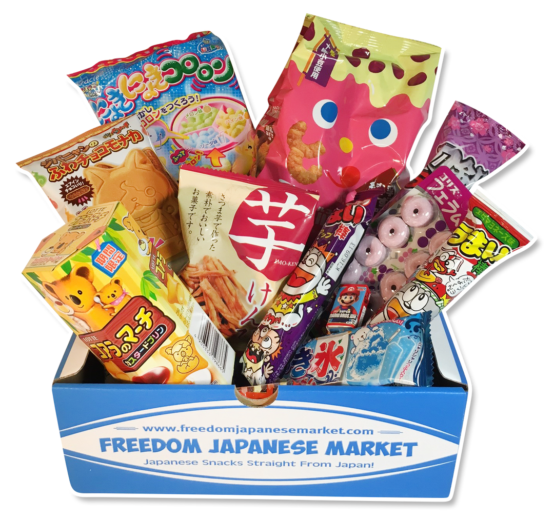 Freedom Japanese Market food and snacks subscription box