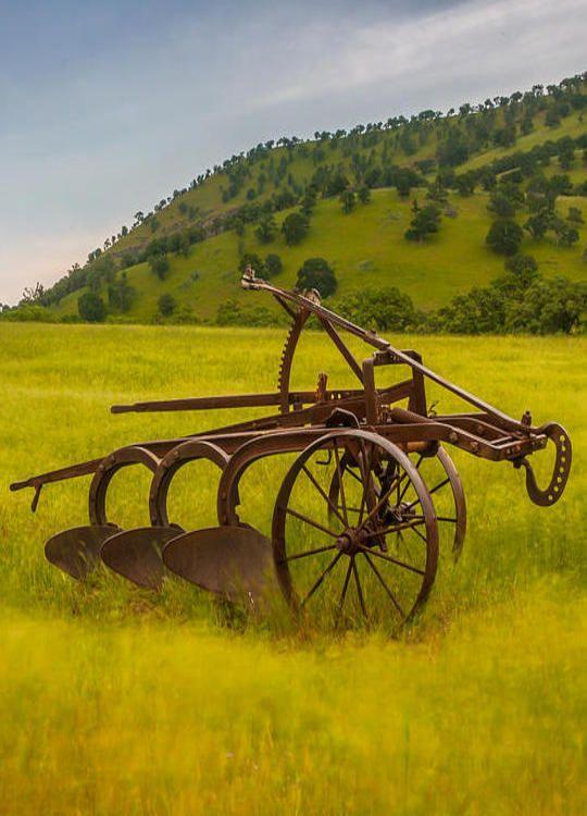 Three Bottom Plow Old Farm Equipment Farm Equipment Vintage Farm