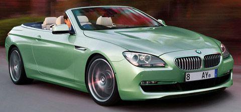 green bmw 6 series convertible bmw cabriolets. Black Bedroom Furniture Sets. Home Design Ideas