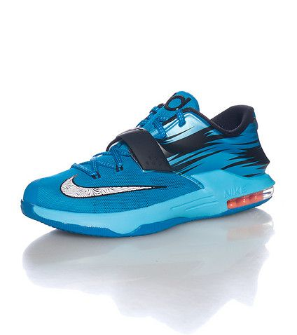 ae91baff16b2 NIKE Kevin Durant Low top kid s sneaker Lace up closure Thick velcro strap  Signature NIKE swoosh on toe box Flywire and mesh detail Air bubble sole