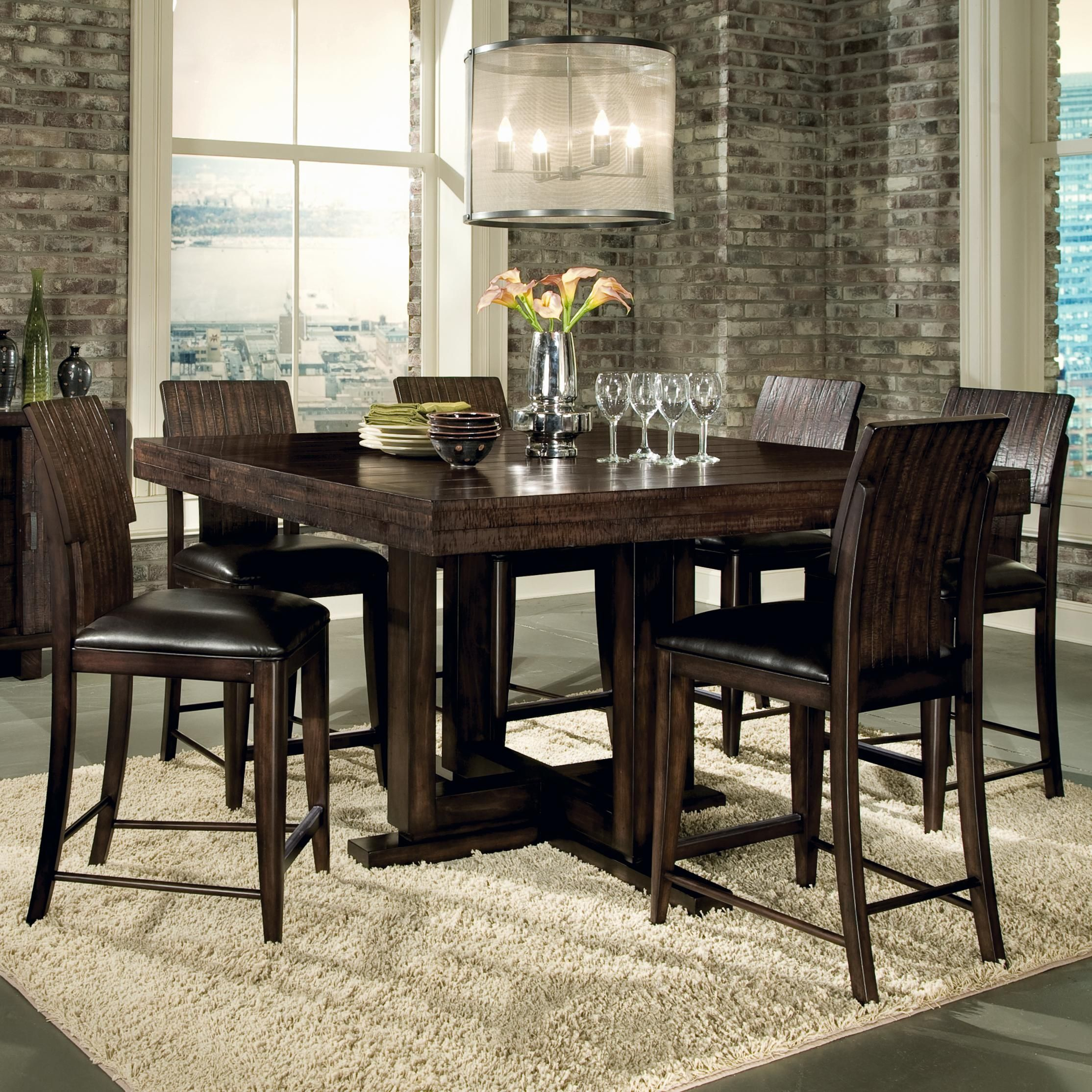 Portland 7 Piece Counter Table Set By Legacy Classic