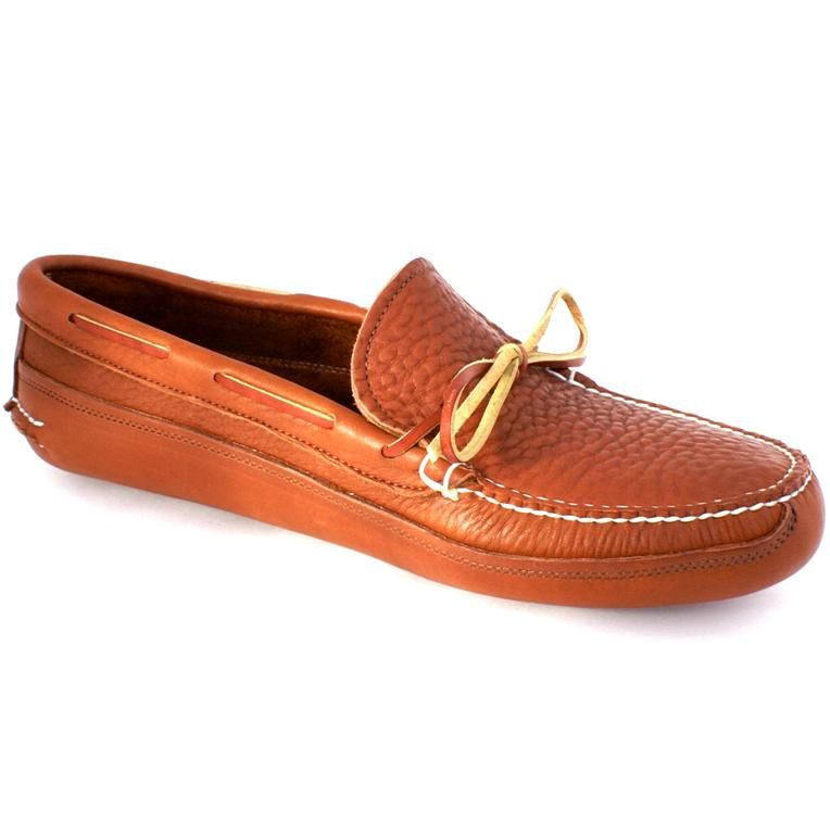 e28e803ea63 Mens Buffalo Hide Unlined Triple Sole Canoe Moc