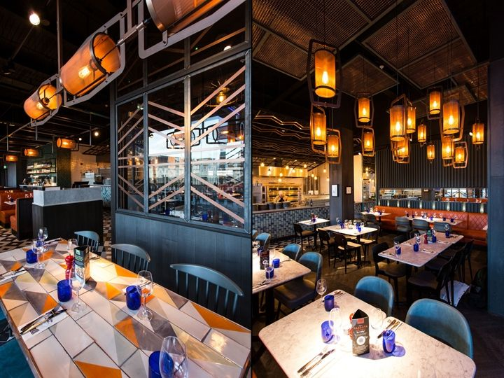 Pizza Express The Moor By Creed Design Sheffield England Retail Blog