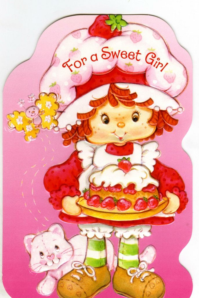 sweet girl | Sweet girls and Vintage strawberry shortcake