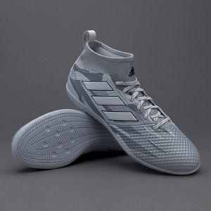 new concept ec3e6 6e9a8 adidas ACE 17.3 Primemesh IN - Gris claro Blanco Negro