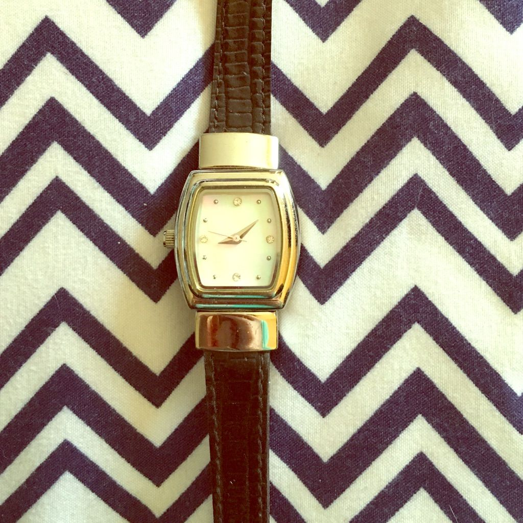 Marykay Watch With Reversible Band