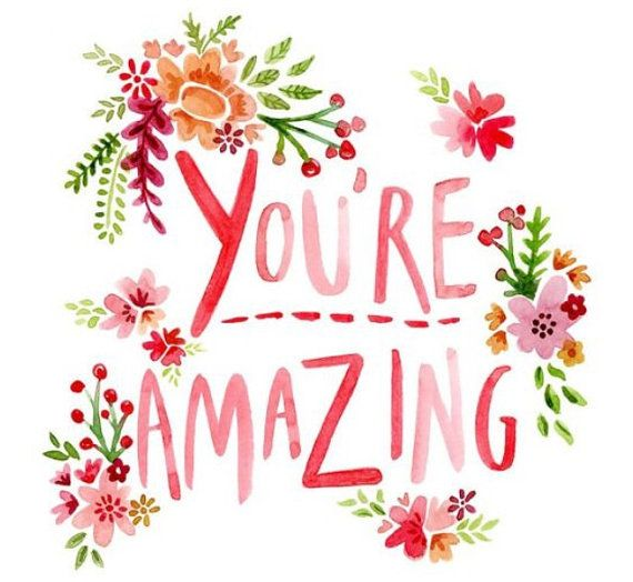You Re Amazing Words: You're Amazing Canvas Art By Spool1068 On Etsy