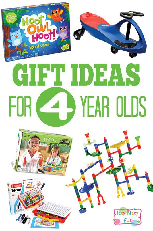Gifts For 4 Year Olds