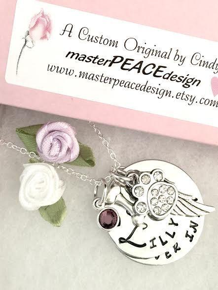pet memorial jewelry dog memorial necklace pet memorial gift