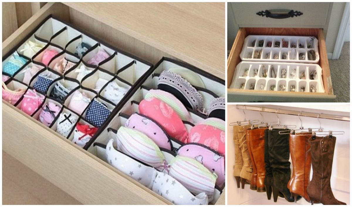 33 Amazing Tips To Keep Your Closet And Dresser Organized DIY