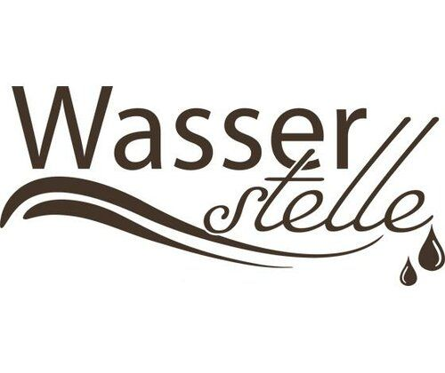 Wasserstelle, Drops Wall Sticker East Urban Home Colour: Brown, Size: 110 cm H x 244 cm W
