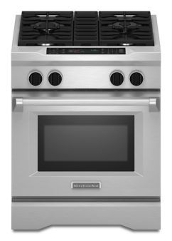Learn About Features And Specifications For The 30 Inch 4 Burner Dual Fuel Freestanding Range Commercial Styl With Images Dual Fuel Ranges Kitchen Aid Freestanding Ranges